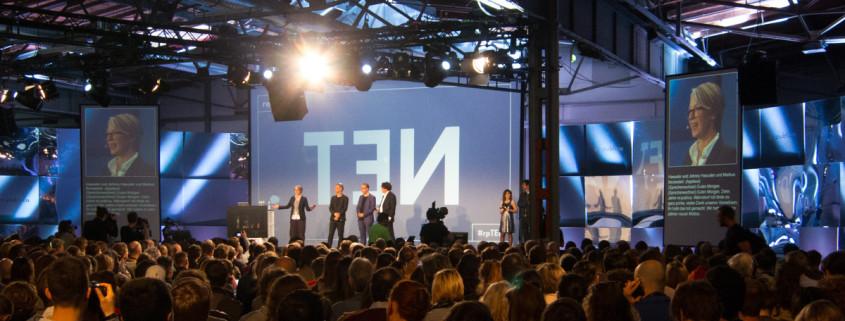 Eröffnung der re:publica TEN 2016 in Berlin