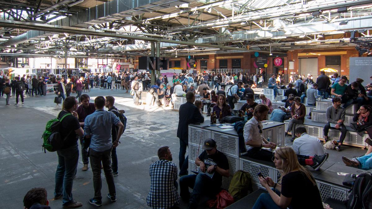 Der «Affenfelsen» an der re:publica TEN 2016